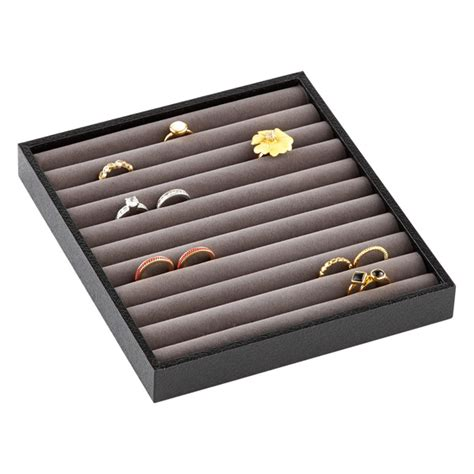 ring tray organizer the container store