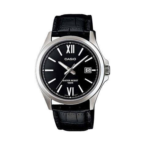 Casio Analog Jam Tangan Pria Kulit Mtp X100l Original jual casio analog mtp 1376l 1avdf jam tangan pria