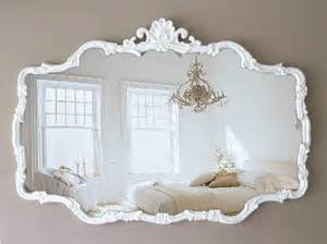 h u g e vintage cottage chic mirror shabby chic french