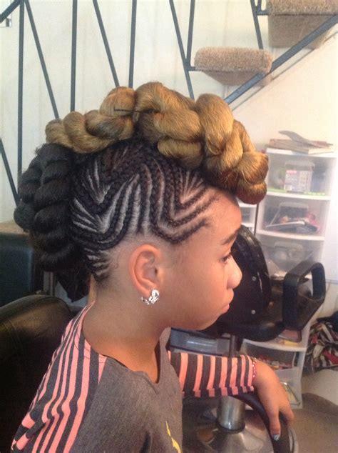 foremost braided mohawk hairstyles mohawk  braids