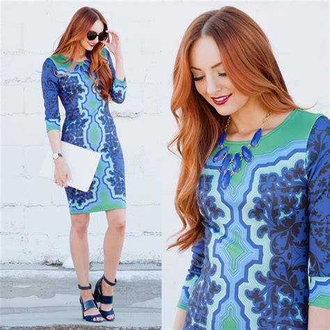 Hale Bob Fashion Marks The Spot by Jackie Welling Hale Bob Printed Dress Hale Bob Lookbook