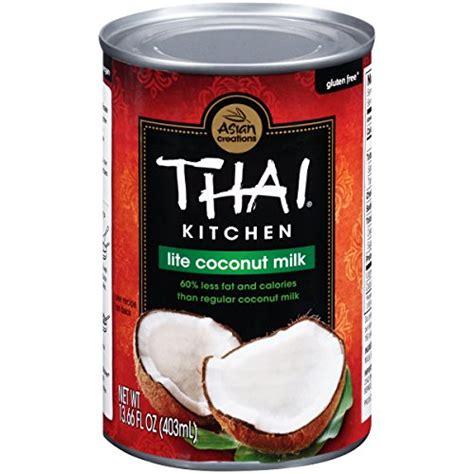 Authentic Thai Kitchen Lite Coconut Milk 13 66 Fl Oz Free Thai Kitchen Coconut Milk Nutrition