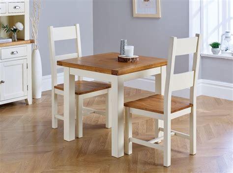 country oak cm cream oak table pair  matching cream