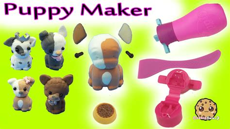 poppit puppies poppit puppies clay do it yourself maker craft set with happy places shoppies