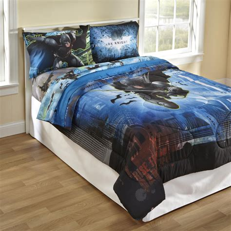 batman comforter licensed kids batman twin full comforter home bed