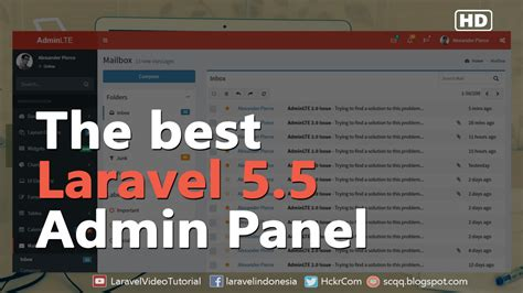 laravel tutorial admin laravel 5 5 tutorial create admin panel using adminlte