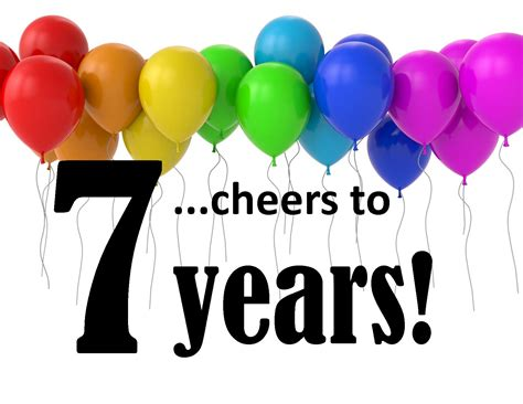 how is 7 in years happy anniversary mrg