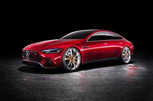 new mercedes sports car models new mercedes amg gt concept to make production in 2019