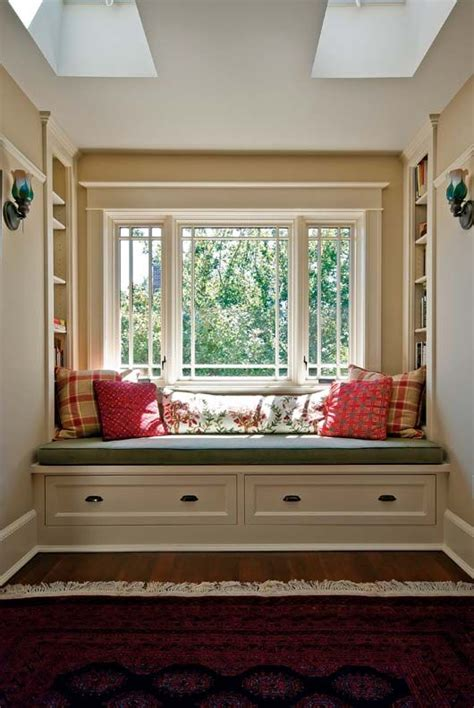 window seat flanked by bookcases how to make a window bench with drawers woodworking