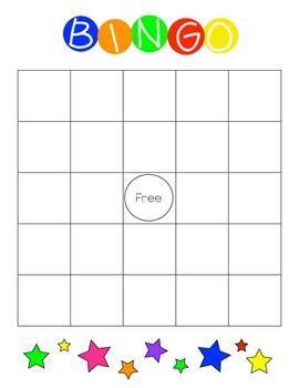 bingo card template blank 7x7 binder blank bingo cards black and school