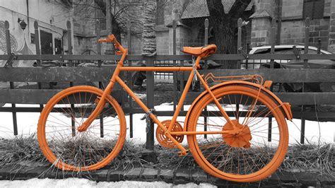 680 best vintage outdoor wall advertising art images free images snow winter black and white wheel retro bicycle parking city wall