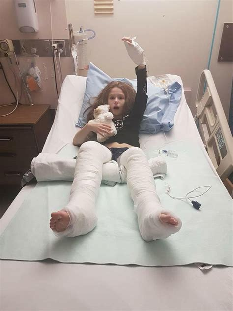 saskatoon girl faces weeks  recovery  toboggan crash ctv saskatoon news