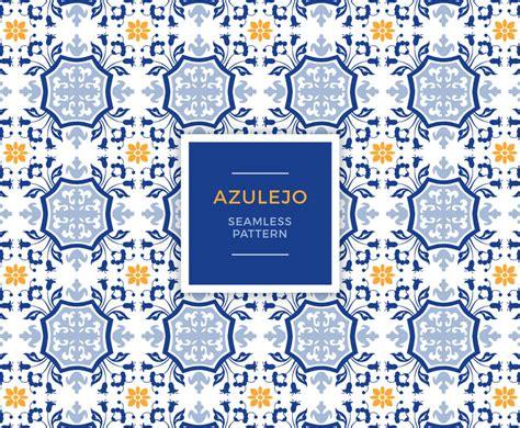 azulejo seamless pattern vector art graphics - Azulejo Pattern