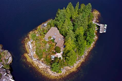 Canadian Houses by Private Island For Sale 2hrs From Downtown Vancouver B C