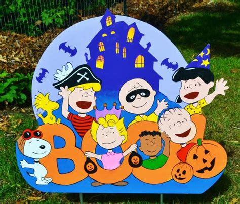 charlie brown gang outdoor peanuts outdoor decorations for funk n yards