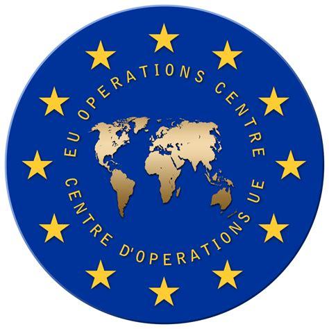The U E file insignia of the eu operations centre svg
