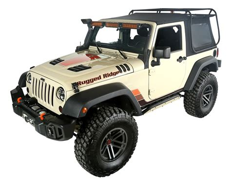 Rugged Jeep by Exo Top 2 Door 07 17 Jeep Wrangler Jk By Rugged Ridge
