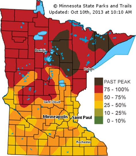 mn dnr fall colors photos prime time for fall color statewide minnesota