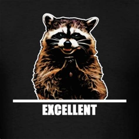Raccoon Excellent Meme - racoon gifts spreadshirt