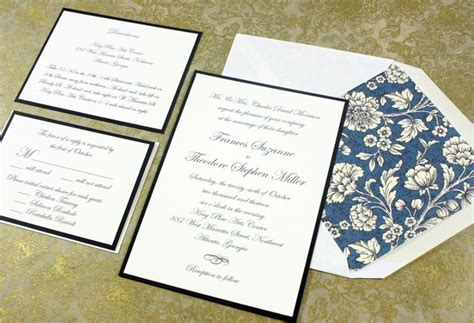 Wedding Invitation Card Size by What Is The Standard Wedding Invitation Size Everafterguide