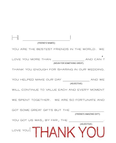 thank you letter wedding gift exles best 25 thank you card wording ideas on
