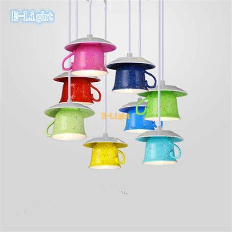 Hot Small Simple Modern Teapot Tea Cup Pendant Lights Cup Lights