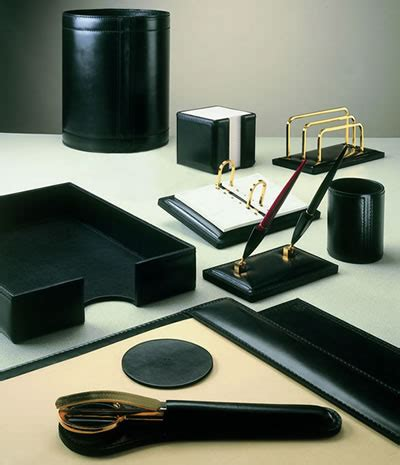 Image Gallery Office Desk Accessories Uk Leather Desk Accessories Uk