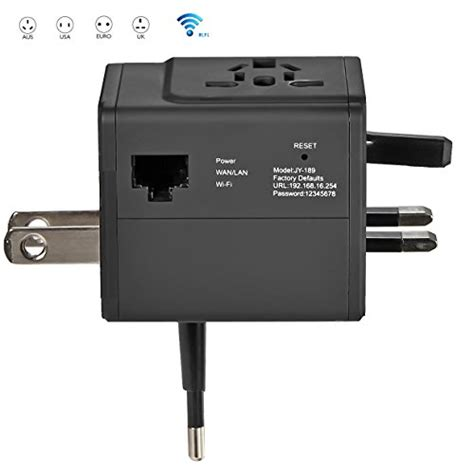router charger eboot smart travel router universal ac adapter travel