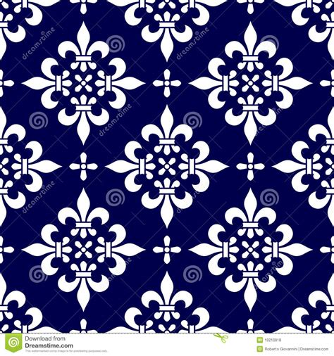 seamless classic pattern  royalty  stock