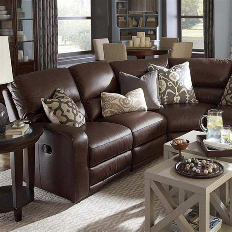 Brown Leather Decor by Best 25 Brown Decor Ideas On Brown Sofa
