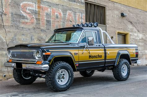 jeep honcho levi russo and steele vehicle details