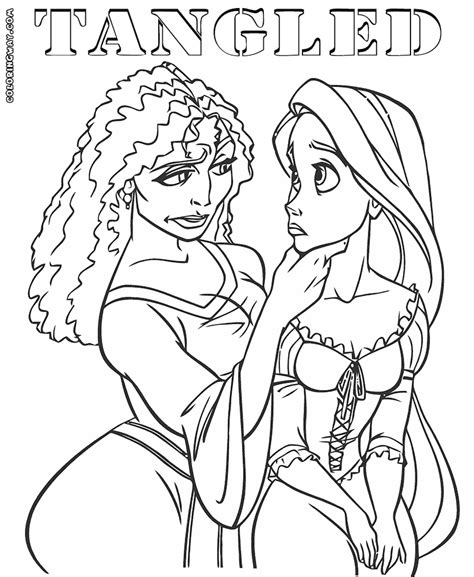 Download Coloring Pages Rapunzel Coloring Page Rapunzel Rapunzel Princess Coloring Pages Free Coloring Sheets