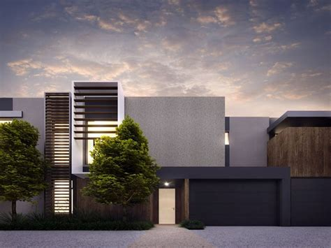 modern townhouse plans cotery townhouse contemporary facade design home