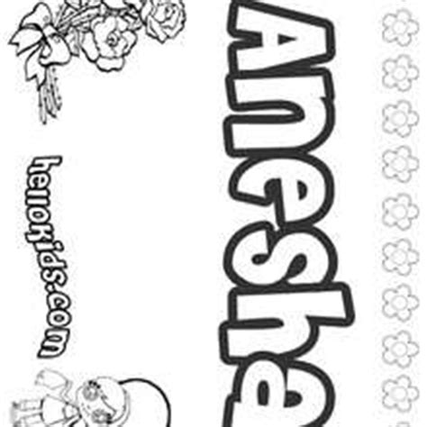 coloring pages of the name andrea andrea coloring pages hellokids com