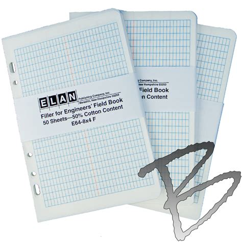 elan field book filler sheets engineering surveyor