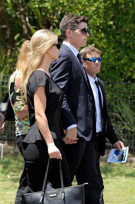 tom hughes guardian mourners gather in macksville to farewell phillip hughes