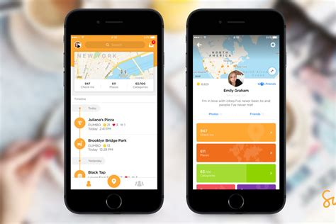 foursquare mobile app foursquare s redesigned swarm app is a journal for