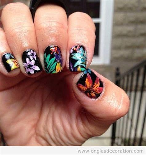 Deco Fleur Ongle by Fleur D 233 Coration D Ongles Nail