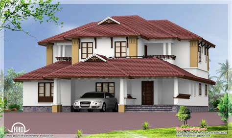 Home Design Roof Styles | kerala style traditional sloping roof house kerala home