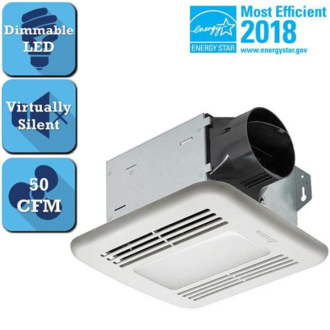 heavy duty bathroom extractor fan nutone heavy duty 50 cfm ceiling exhaust fan hd50nt the