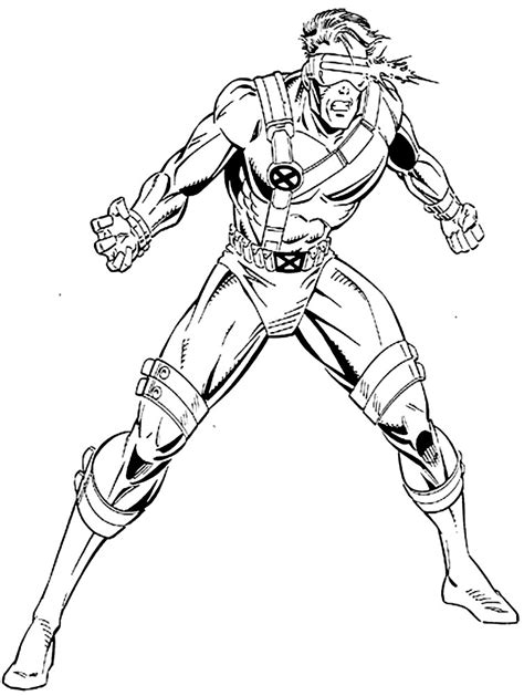 cyclops free coloring pages