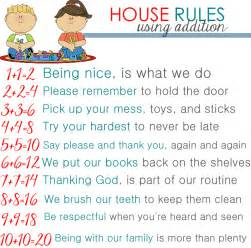 Home Design Basic Rules by House Rules For Kids Images
