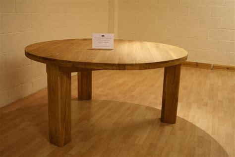 Circular Oak Dining Table Oslo Solid Oak Dining Furniture Oak Sideboards Large Dining Tables