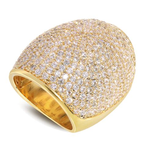 Big Rings by Aliexpress Buy 2016 Big Ring Top Fashion Gold Plate
