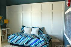 boy s room makeover by decor project info paint color behr underwater 40 paneled