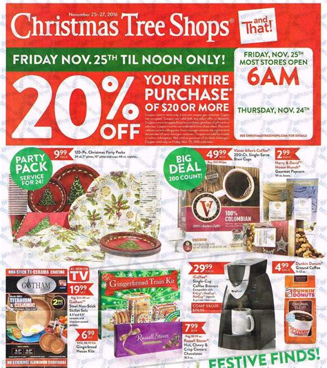 christmas tree shops black friday 2016 ad scan page 1