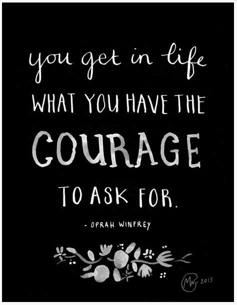 oprah winfrey the who would grow up to be oprah books the courage to ask for help you ll never what