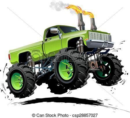 monster truck cartoon videos cartoon monster truck clip art 81