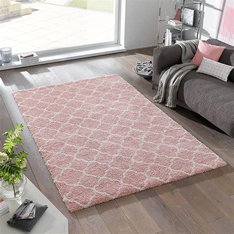 runder rosa teppich teppich rosa wei 223 160 x 230 cm wohnzimmer teppiche