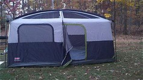 Coleman Prairie Cabin Tent by Greatland 7 8 Person Cabin Tent With Screen Porch On Popscreen